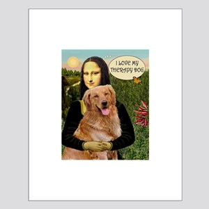 Mona/Golden Therapy Small Poster