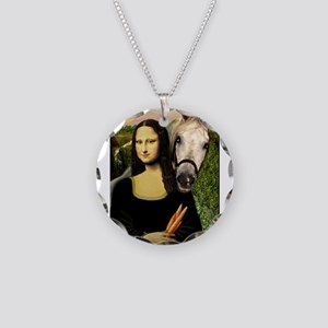 Mona's Arabian Horse (#1) Necklace Circle Charm