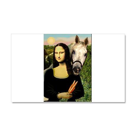 Mona's Arabian Horse (#1) Car Magnet 20 x 12