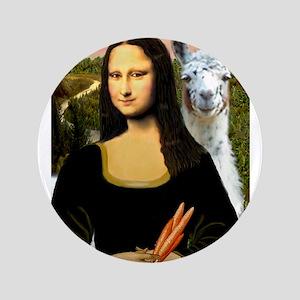 "Mona Lisa's Llama 3.5"" Button"