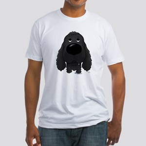 Big Nose Cocker Fitted T-Shirt