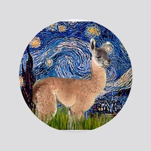"Starry Night Llama 3.5"" Button"