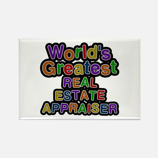 World's Greatest REAL ESTATE APPRAISER Rectangle M