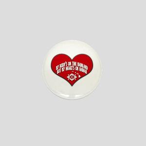 Heart's On Hawaii Mini Button