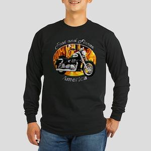 Triumph America Long Sleeve Dark T-Shirt