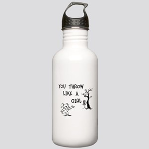You throw like a girl. Stainless Water Bottle 1.0L