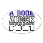 FB a book Sticker (Oval)