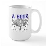FB a book Large Mug