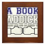 FB a book Framed Tile