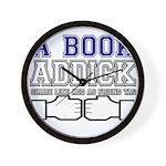 FB a book Wall Clock