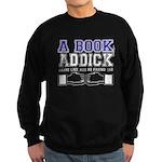FB a book Sweatshirt (dark)