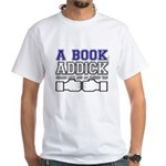 FB a book White T-Shirt