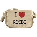I heart rocko Messenger Bag