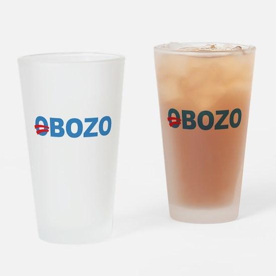 Anti Barack Obama Drinking Glass