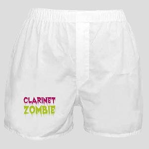 Clarinet Zombie Boxer Shorts