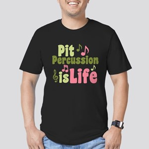 Pit is Life Men's Fitted T-Shirt (dark)