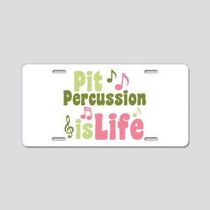 Pit is Life Aluminum License Plate