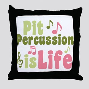 Pit is Life Throw Pillow
