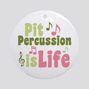 Pit is Life Ornament (Round)