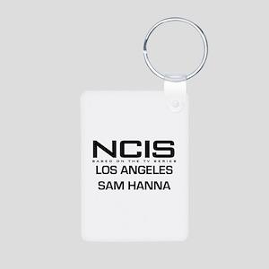 NCIS LA Sam Hanna Aluminum Photo Keychain