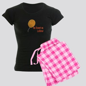 Sweet Lollipop Women's Dark Pajamas