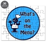 What's on the Menu? Puzzle