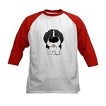 Big Nose Newfie Kids Baseball Jersey