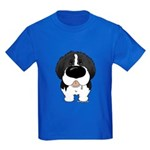 Big Nose Newfie Kids Dark T-Shirt