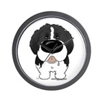 Big Nose Newfie Wall Clock