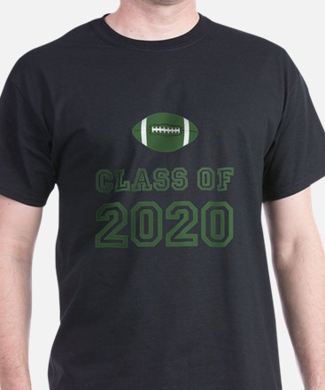 Class Of 2020 Football T-Shirt