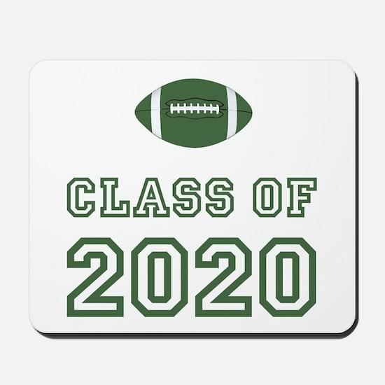 Class Of 2020 Football Mousepad