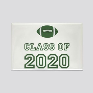 Class Of 2020 Football Rectangle Magnet
