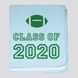 Class Of 2020 Football baby blanket