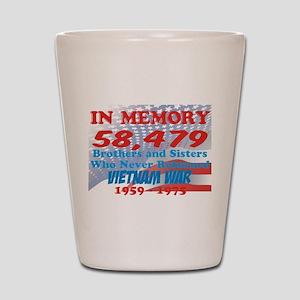 In memory Shot Glass