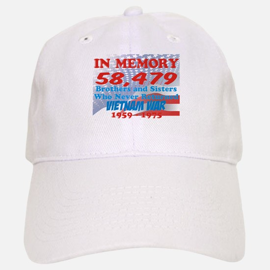 In memory Baseball Baseball Cap