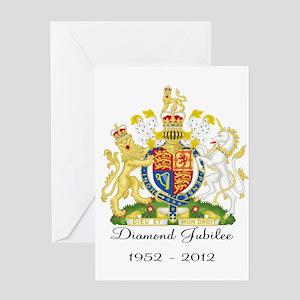 Diamond Jubilee Design Greeting Card