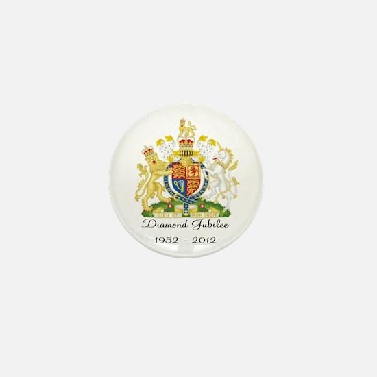Diamond Jubilee Design Mini Button
