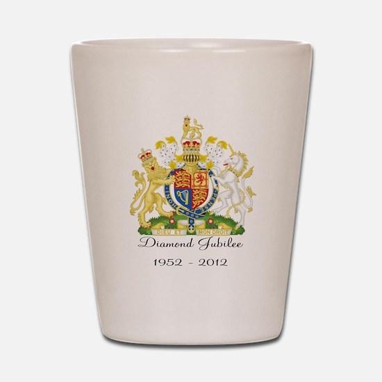 Diamond Jubilee Design Shot Glass