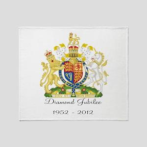 Diamond Jubilee Design Throw Blanket