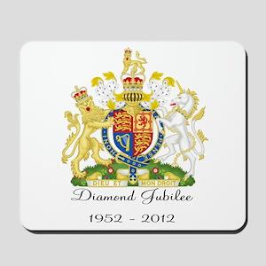 Diamond Jubilee Design Mousepad