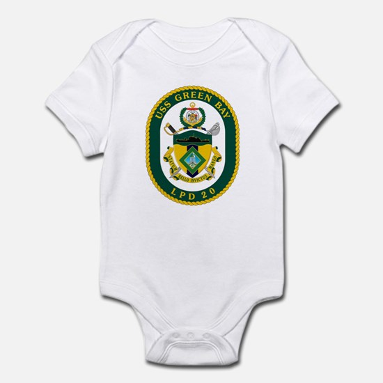 USS Green Bay LPD 20 Infant Bodysuit