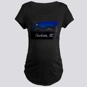 Charleston, SC. Maternity Dark T-Shirt