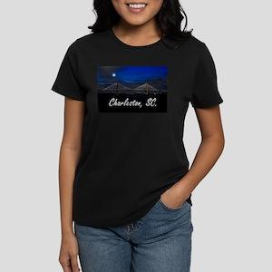 Charleston, SC. Women's Dark T-Shirt