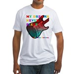My dreams Never sleep Fitted T-Shirt