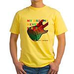 My dreams Never sleep Yellow T-Shirt