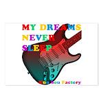 My dreams Never sleep Postcards (Package of 8)