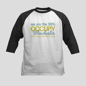 Occupy Winchester Kids Baseball Jersey