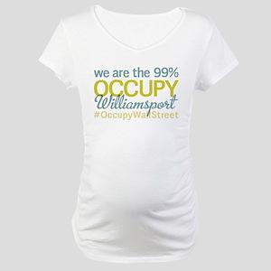 Occupy Williamsport Maternity T-Shirt