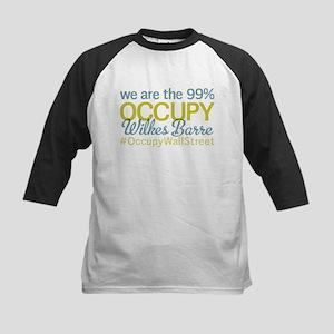 Occupy Wilkes Barre Kids Baseball Jersey