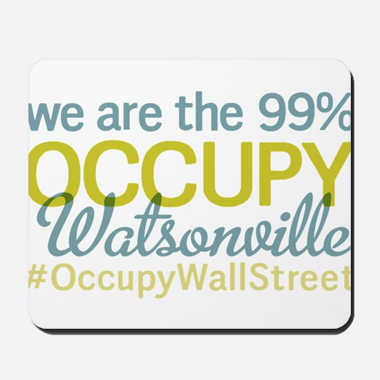 Occupy Watsonville Mousepad